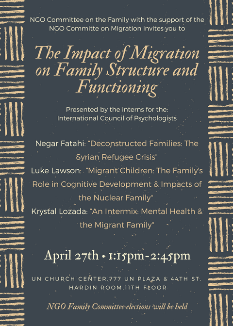 Migration Flyer